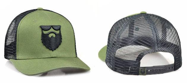 idée de chapeau de barbe pour cadeaux et cadeaux &quot;width =&quot; 630 &quot;height =&quot; 280 &quot;/&gt; </p> <p> <strong> Ce Snapback Logo de la barbe </strong> est une façon géniale d&#39;habiller votre ami barbu ou votre membre de la famille à la hauteur de la crinière. Il n&#39;y a pas beaucoup de choses qui viendraient même près de regarder comme un mauvais cul que de porter un beau chapeau de camionneur de couleur militaire avec une barbe sauvage. </p> <p> <strong> Où acheter: <span style=
