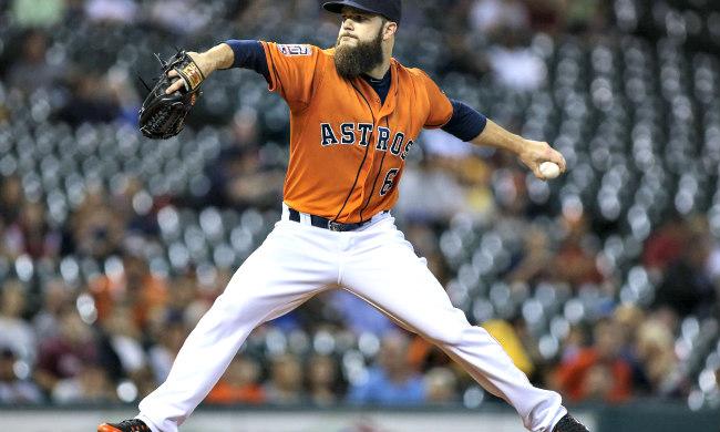 """Pourquoi les joueurs de baseball ont-ils une barbe dallas keuchel """"width ="""" 650 """"height ="""" 390 """"/>    <figcaption class="""