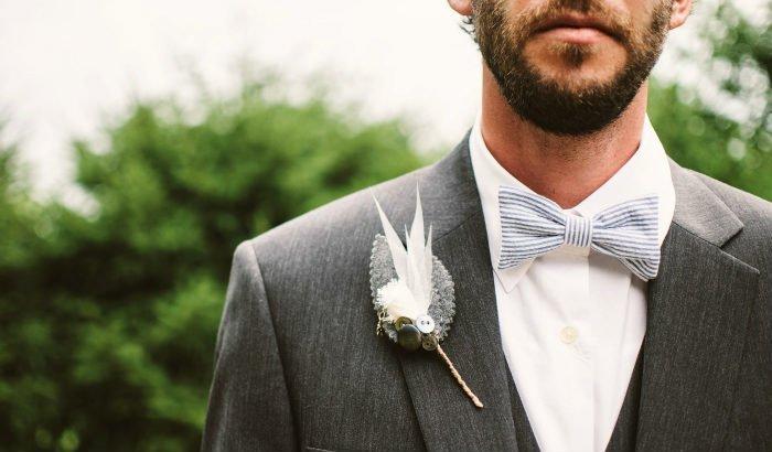 barbe de mariage
