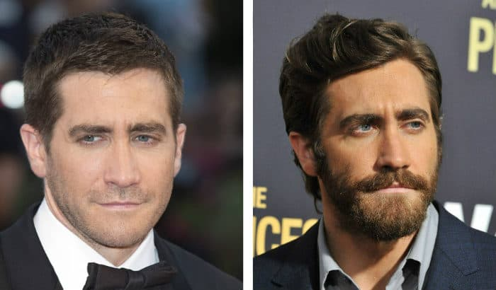 barbe de jake gyllenhaal vs pas de barbe